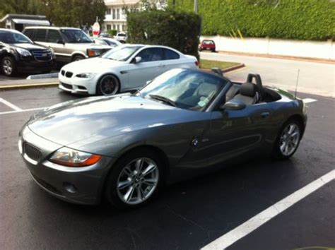 electronic stability control 2003 bmw z4 on board diagnostic system purchase used rare 2003 bmw z4 3 0i convertible 46500mi automatic in miami beach florida