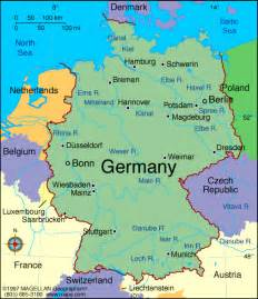 map of europe germany maps germany map maps of germany europe