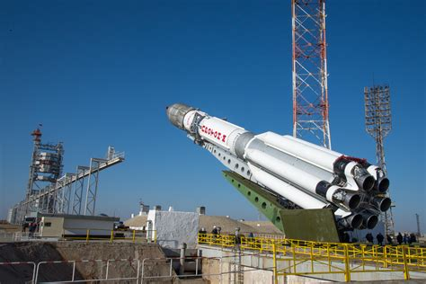 Russian Proton by Proton Carrying European Russian Exomars Mission Lifts