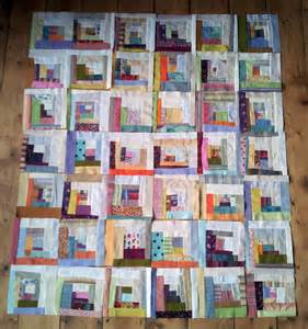 makes design choices log cabin quilt layout