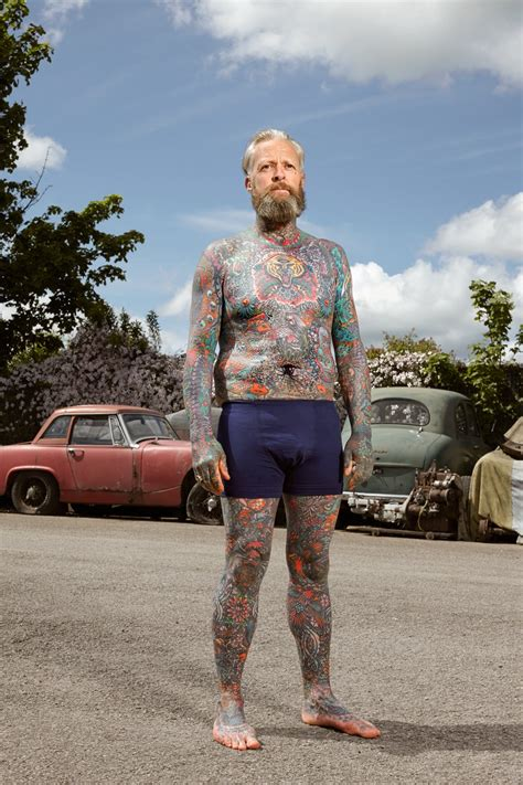 full body tattoo experience full body tattooed brits show off some proper ink