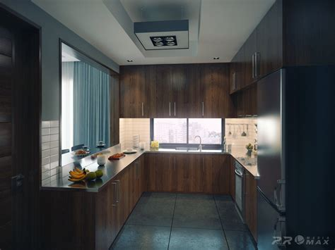 Modern Kitchen Apartment Interior Design Ideas Modern Apartment 1 Kitchen Interior Design Ideas