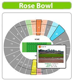 bowl seating view bowl seating chart bowl seating chart