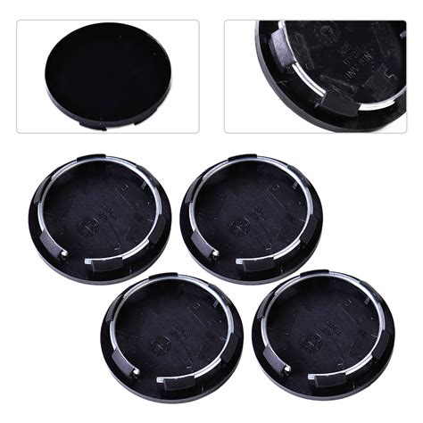 4pcs Roda 50mm 4 Wheels 50mm 4pcs black 50mm auto hub cap car wheel center tyre mounted cover trim ebay