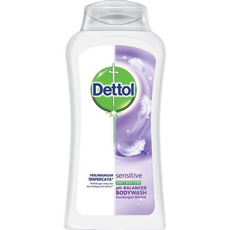 Sabun Kulit Sensitive dettol anti bacterial sensitive bodywash dettol