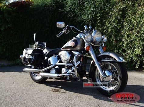 1997 Harley Davidson by 1997 Harley Davidson Softail Heritage Classic Moto