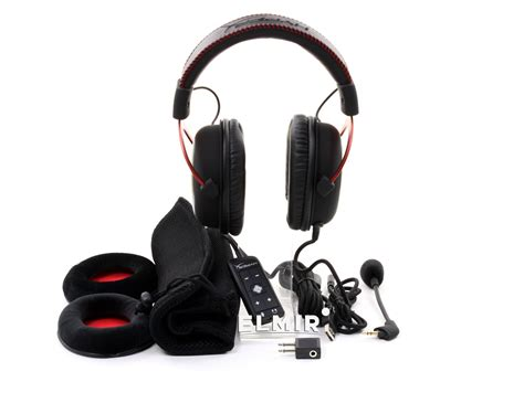 Hyperx Cloud Khx Hscp Rd kingston hyperx cloud ii gaming headset khx