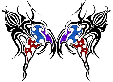 butterfly tribal by nakwada on deviantart