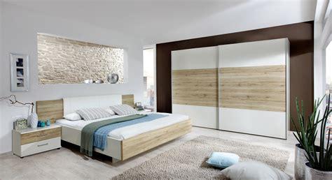 komplett schlafzimmer mit eiche nachbildung dekor swansea - Design Schlafzimmer Komplett