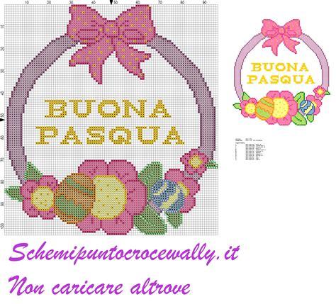 cuscini a punto croce schemi gratis buona pasqua ghirlanda schema punto croce gratis pasqua