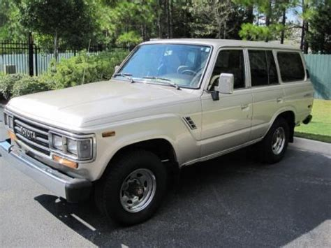 1989 Toyota Specs 1989 Toyota Land Cruiser Data Info And Specs Gtcarlot