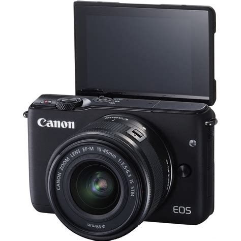 Canon Eos M10 Mirrorless Digital With 15 45 Mm Lens Black canon eos m10 mirrorless digital with 15 45mm lens black us ebay