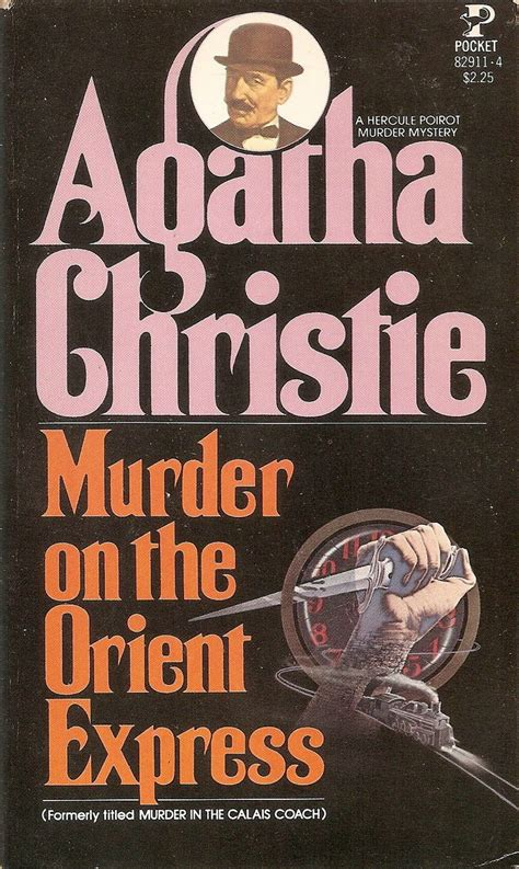 Novel Murder On The Orient Express Cover Agatha Christie pin by jeff black on my books a cover gallery