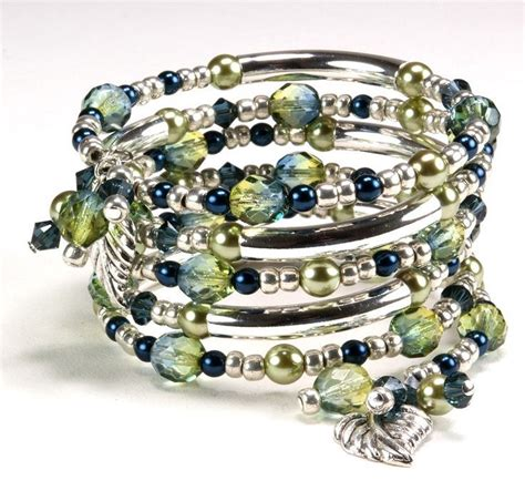 how to make a beaded bracelet with wire jewelry ideas pretty pretty bling