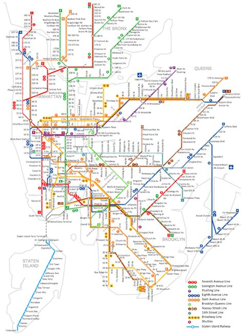 ny metro map new york map new york map