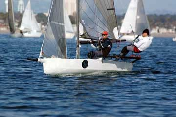 skiff clinic international 14 sailboat for sale