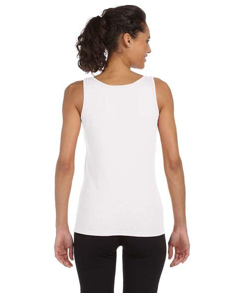 Serly Denim Tunik Fit L Gd new gildan tank top 4 5 oz softstyle junior fit sleeveless g642l ebay