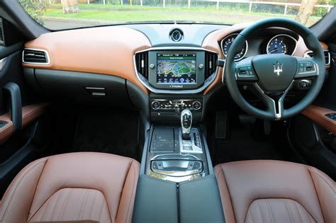 white maserati inside maserati ghibli on sale in australia from 138 900
