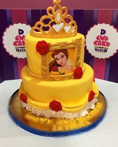 Beauty And The Beast Belle Cake By Memes Cakes