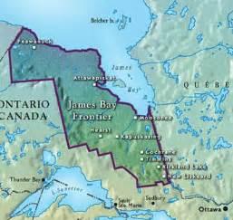 bay canada map bay frontier