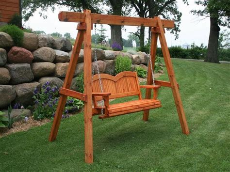 ole e living comfortable porch glider swing plans free glider porch swing plans