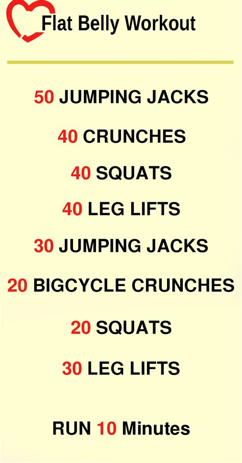 flat belly workout losing weight for all