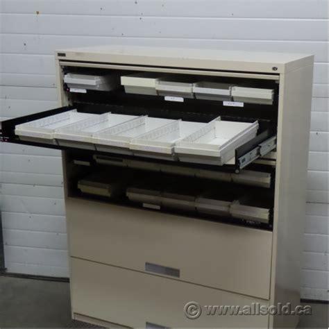used microfilm storage cabinets artopex beige 8 microfiche storage file cabinet