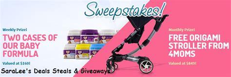 Free Baby Sweepstakes - storebrandformula com free baby formula sweepstakes 6 30 weekly us saralee s deals