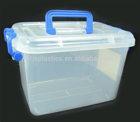 20l plastic container with lid for house storage and