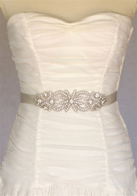 Wedding Dress Belts by Bridal Sash Bridal Belt Wedding Dress By Amienoeldesigns