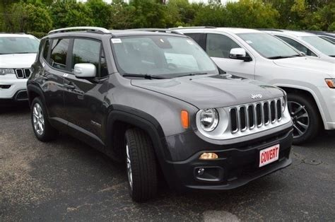 gray jeep renegade j08926 jeep renegade limited gray suv 2 4l i4 16v