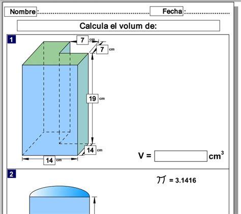 figuras geometricas con volumen volumen de figuras geom 233 tricas recurso educativo 38049