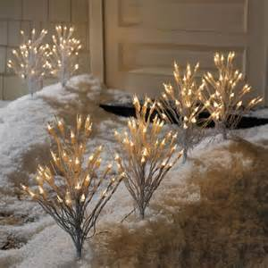 50 discount pre lit pathway twig lights christmas