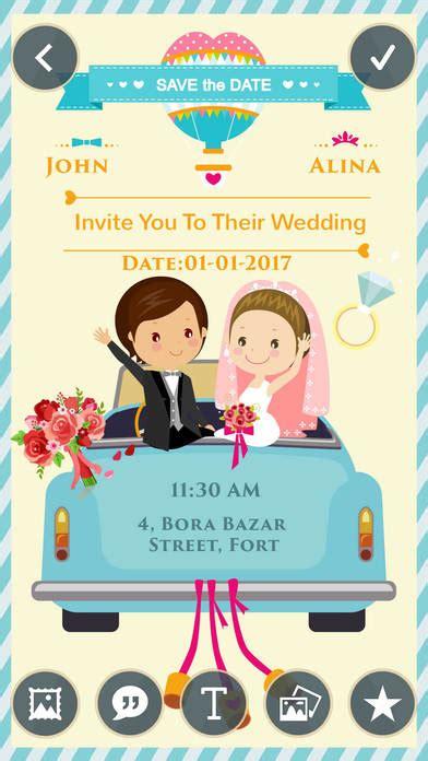 wedding invitation creator apps wedding invitation greeting cards maker app