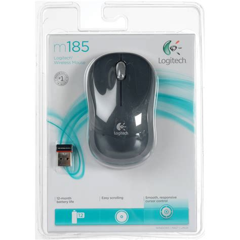Logitech M185 Wireless Mouse Udko4 logitech m185 wireless mouse 910 002225 b h photo
