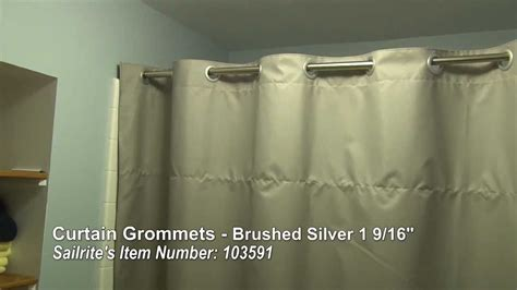 how to install grommets on curtains curtain grommet installation large grommets for up to 1