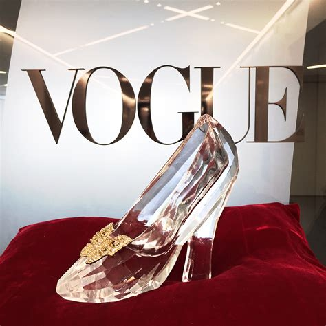 cinderella shoes cinderella s glass slipper comes to the vogue closet vogue