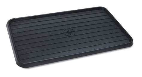 wirthco 40098 multi use mat boot tray black 15 quot x 25 quot x 75 quot