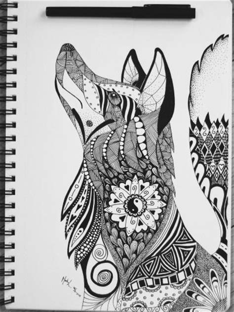 tattoo mandala fox mandala animal tumblr tattoo pinterest mandalas
