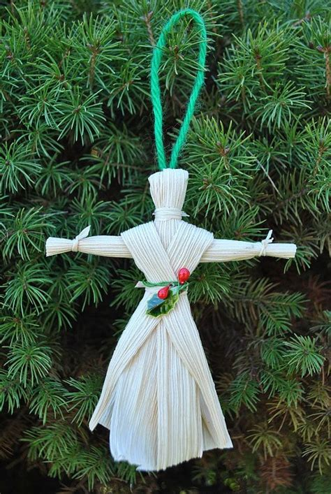 corn husk doll ornaments iroquois corn husk doll ornament