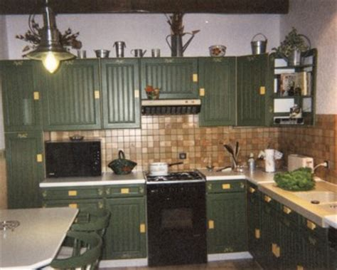 cuisine vert olive decoration cuisine vert olive