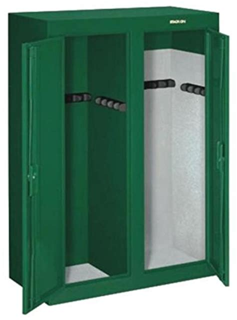 stack on 16 gun door cabinet stack on gcdg 9216 16 gun convertible door steel