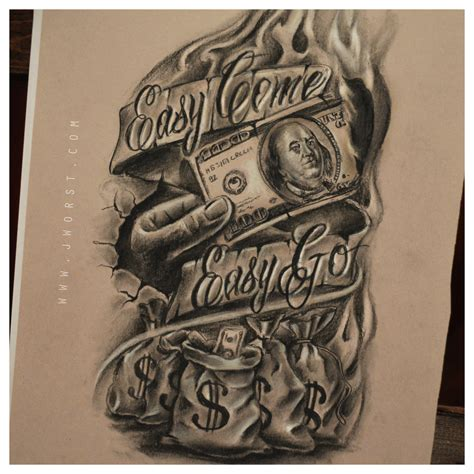 money tattoo designs dope money tattoos www pixshark images galleries