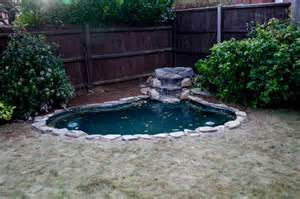 backyard pond liners outdoor preformed pond liners with wood fence preformed pond liners great solutions for small