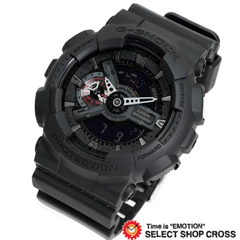Casio G Shock Ga 110mb 1adr Black Series 楽天市場 g shock casio カシオ gショック メンズ black series