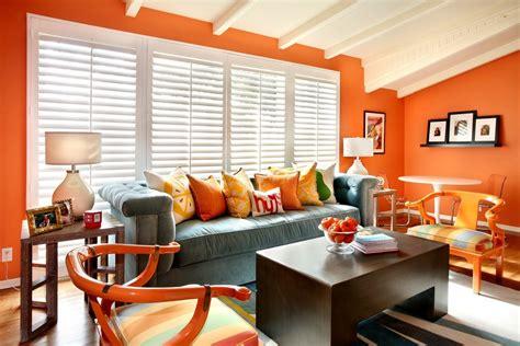 orange livingroom orange living room designs one decor