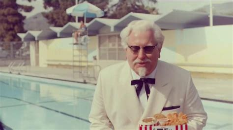 kfc commercial actress kfc tv commercial ask any lifeguard featuring darrell