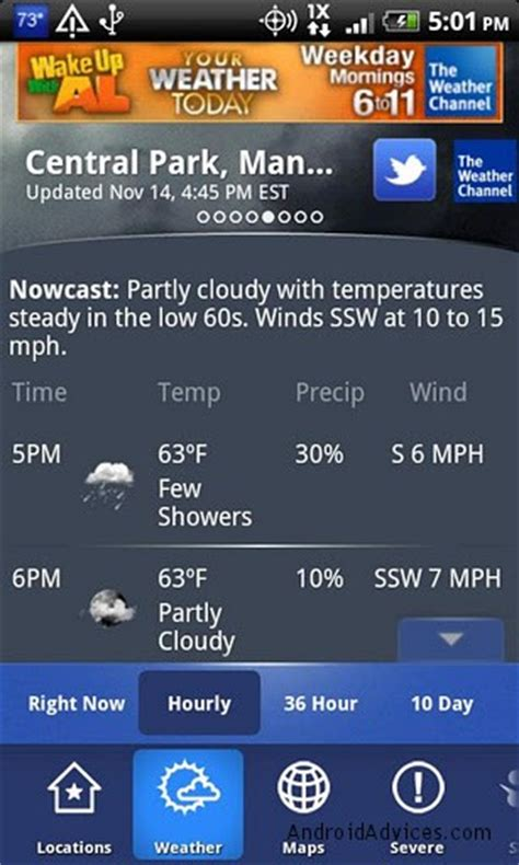 the weather channel app for android tablet 7 best weather apps widgets for android phones tablets android advices