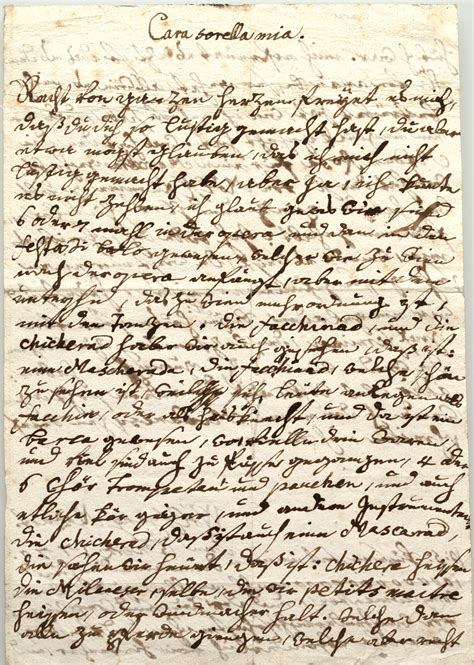 mozart lettere letter from wolfgang amadeus mozart to