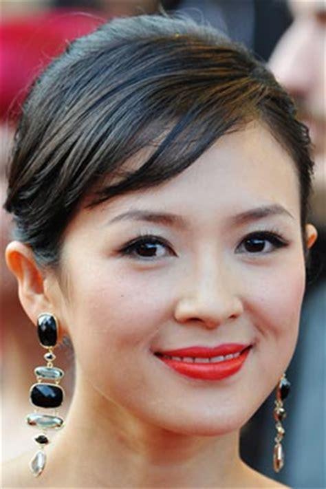 ziyi thin hair ziyi zhang bright lips best makeup looks for asian faces